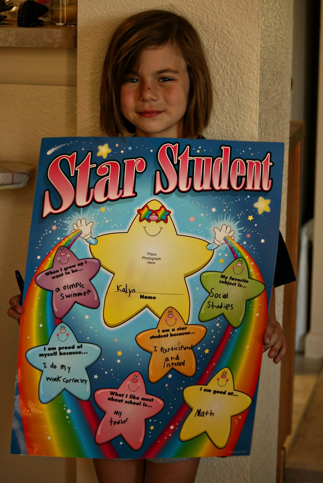 Student Of the Week Posters Unique Just Sayin 08 01 2010 09 01 2010