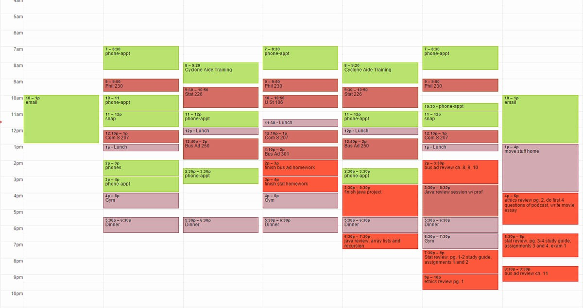 Study Plan Template for Students New How to Create A Study Schedule for Your Final Exams