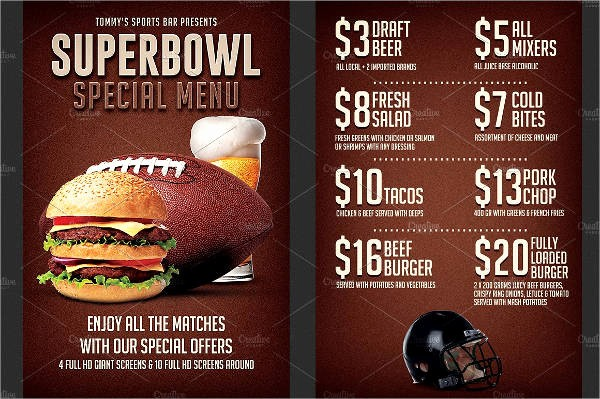 Super Bowl Party Flyer Template Lovely Party Flyer Examples
