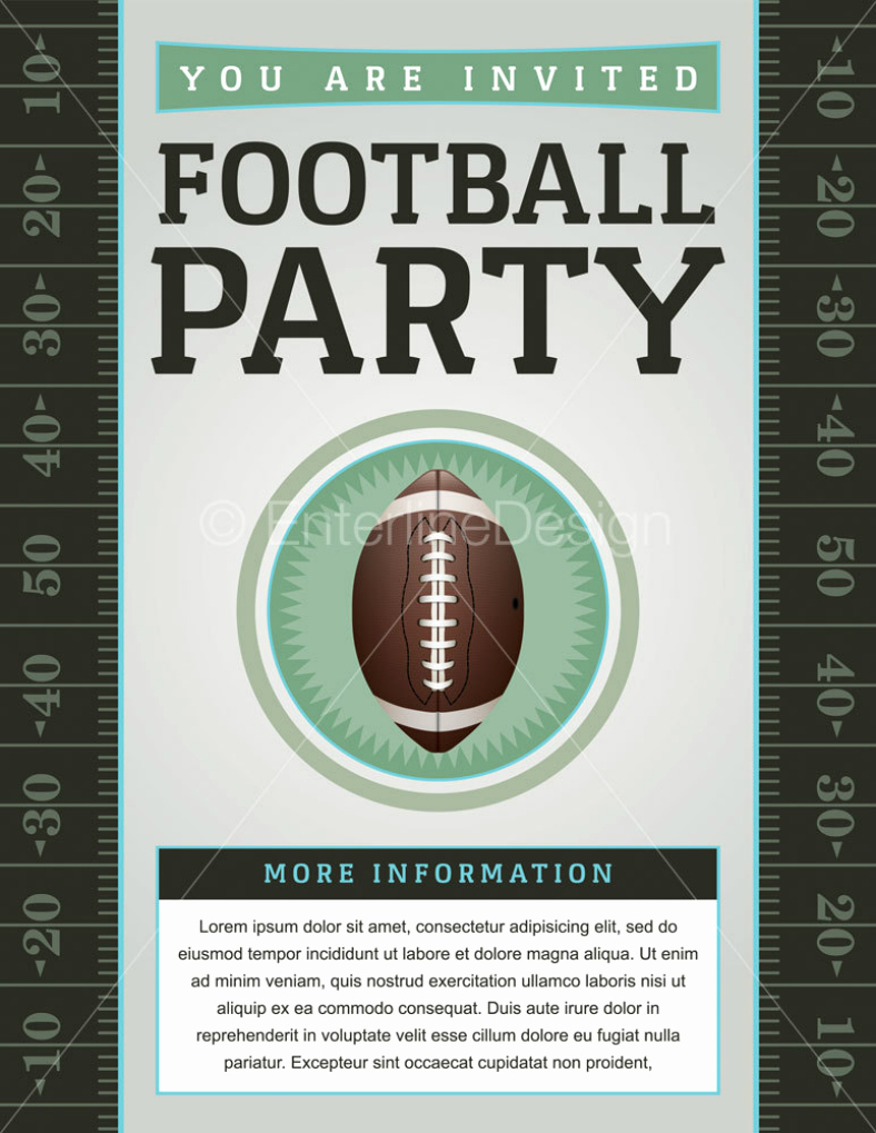 Super Bowl Party Flyer Template Luxury 15 Super Bowl Flyer Designs & Templates Psd Ai