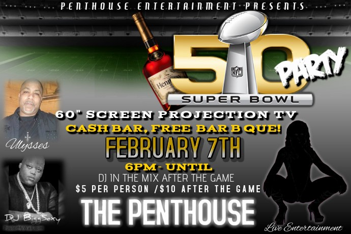 Super Bowl Party Flyer Template Unique Superbowl Flyer Template