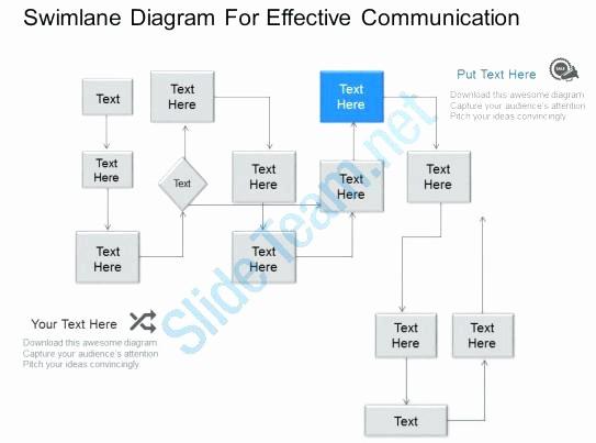Swim Lane Diagram Ppt Template Best Of Swim Lane Diagram Template New Repair Service Flow Chart