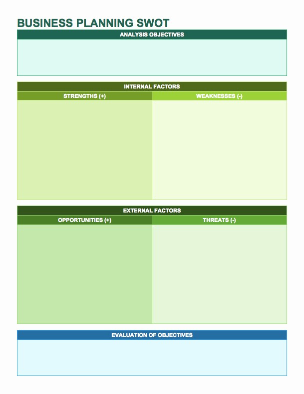Swot Analysis Template Microsoft Word Elegant 14 Free Swot Analysis Templates Smartsheet