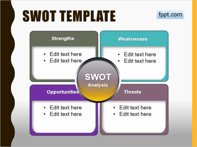 Swot Analysis Template Microsoft Word Elegant 20 Creative Swot Analysis Templates Word Excel Ppt and