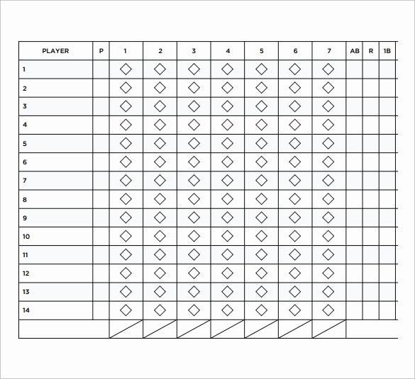 T Ball Snack Schedule Template Beautiful Player Information Sheet Template softball Best