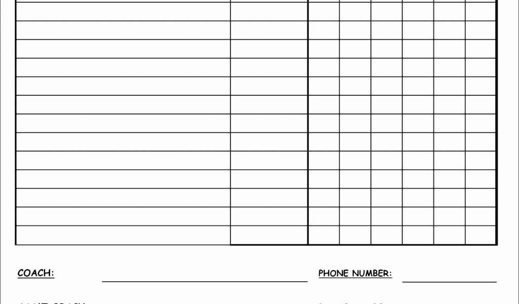 T Ball Snack Schedule Template New Blank Football Team Sheet Template – Rightarrow Template