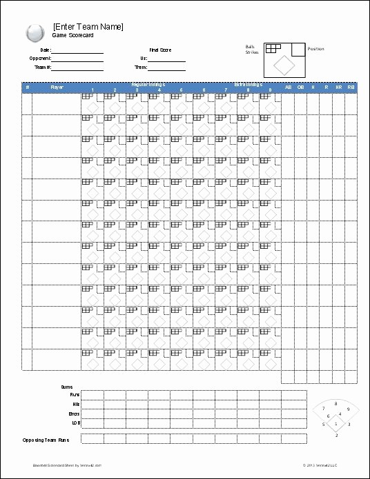 T Ball Snack Schedule Template New Download A Free Baseball Roster Template for Excel