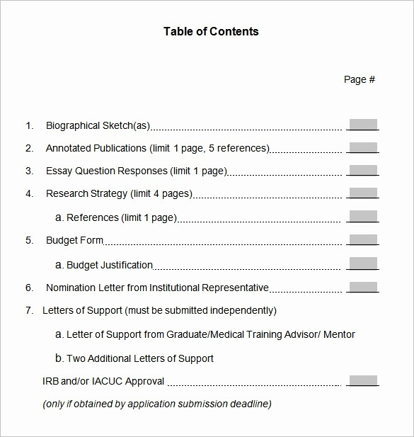Table Of Contents Sample Page Awesome What is An Annotated Table Of Contents for A Book Quora