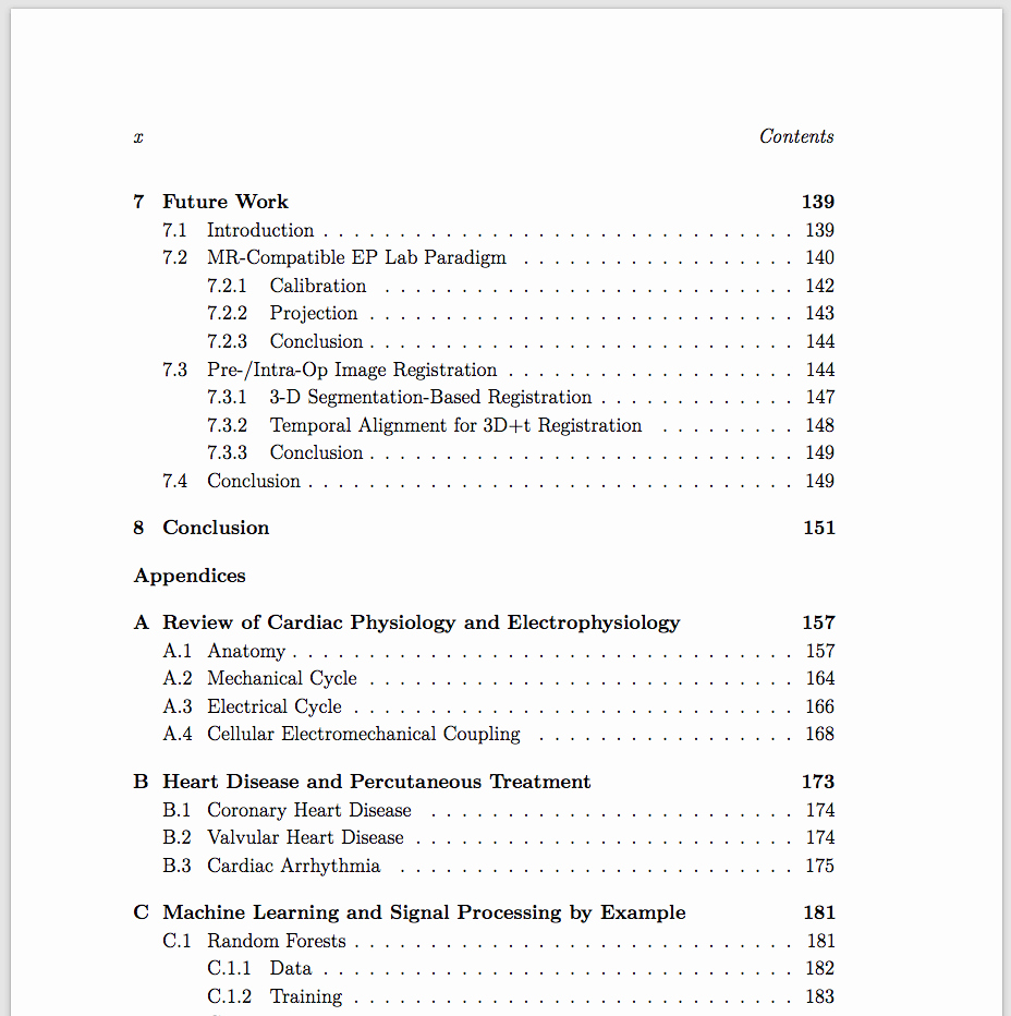 Table Of Contents Sample Page Unique Essay Table Contents Example