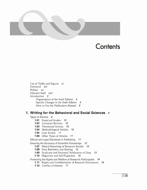 Table Of Contents Template Pdf Elegant 20 Table Of Contents Templates and Examples Free