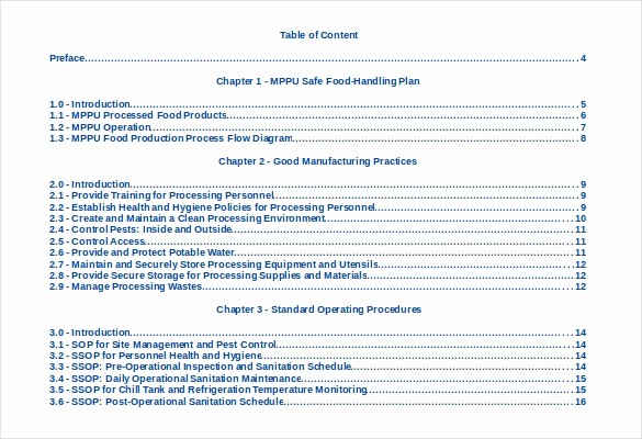 Table Of Contents Template Pdf Elegant 22 Table Of Contents – Pdf Doc