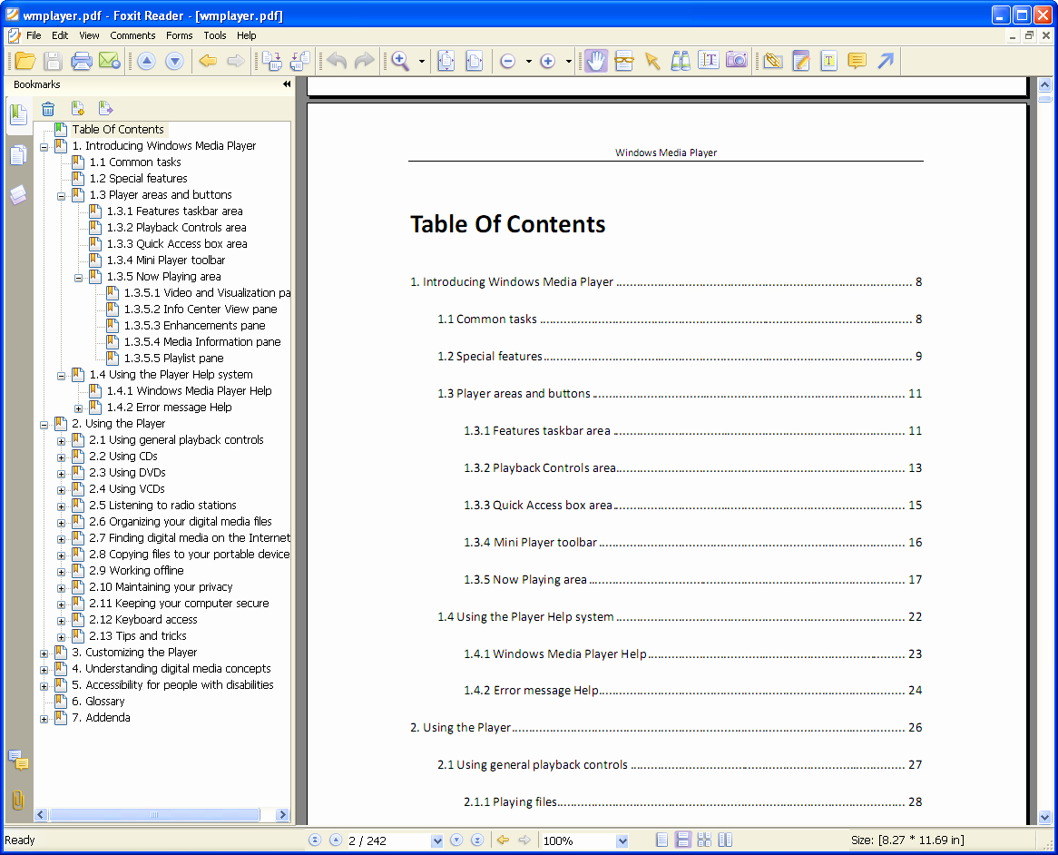 Table Of Contents Template Pdf Unique softany Chm to Pdf Converter Convert Chm HTML Help