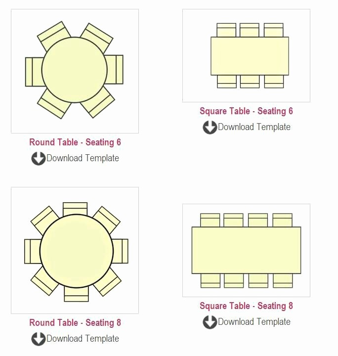 Table Seating Chart Template Free Awesome Table Seating Chart Templates Summit