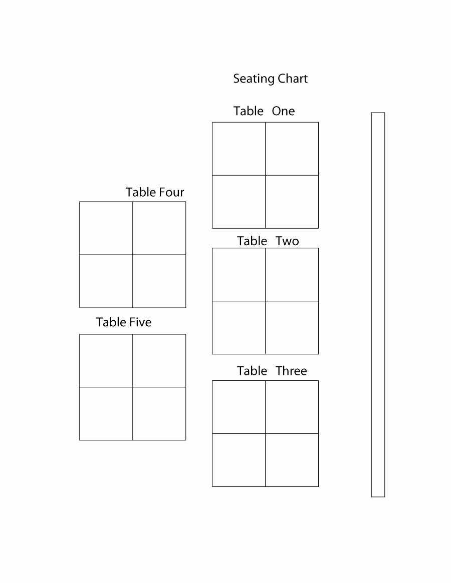 Table Seating Chart Template Free Best Of 40 Great Seating Chart Templates Wedding Classroom More