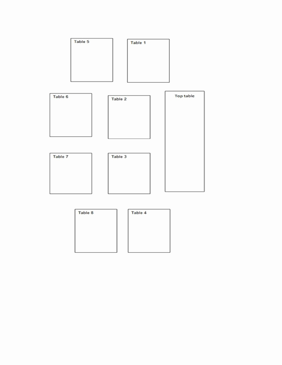 Table Seating Chart Template Free Fresh 40 Great Seating Chart Templates Wedding Classroom More