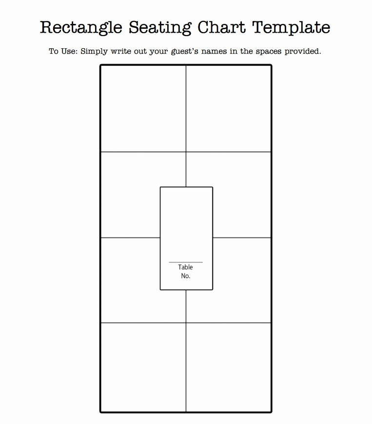 Table Seating Chart Template Free Inspirational Wedding Seating Chart Template