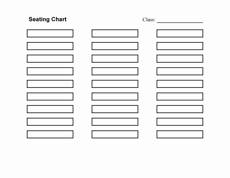 Table Seating Chart Template Free Unique 40 Great Seating Chart Templates Wedding Classroom More