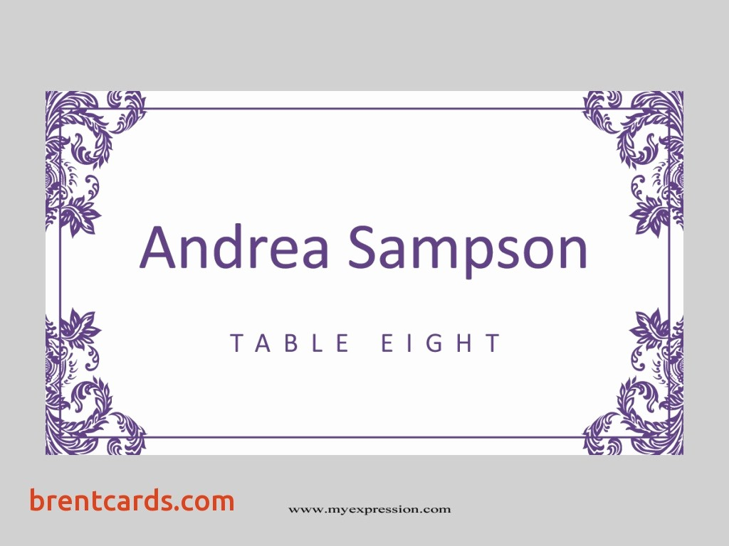 Table Tent Name Cards Template New Table Name Template Avery Name Plate Template Name Tent