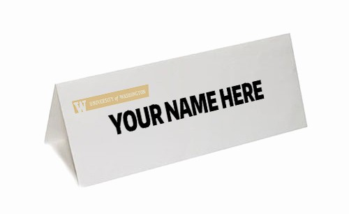Table Tent Name Cards Template Unique Table Tent