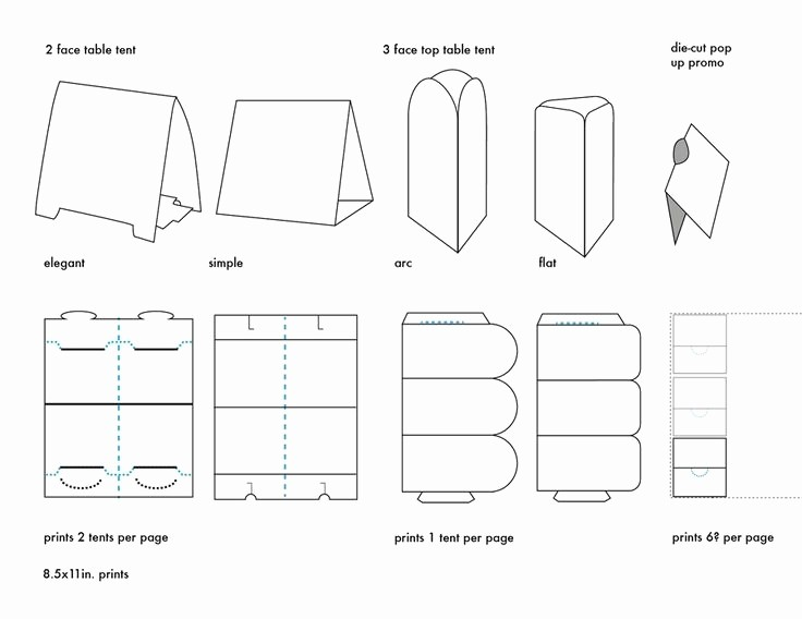 Table Tent Template Microsoft Word New Table Tent Template Word Beepmunk