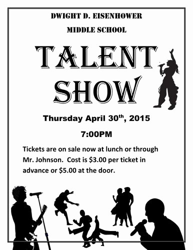 Talent Show Program Template Free Awesome 17 Best Ideas About Talent Show On Pinterest