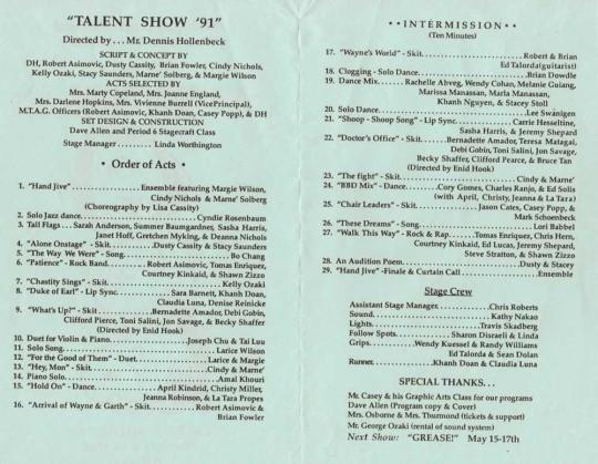 Talent Show Program Template Free Beautiful the Gallery for Talent Show Program Template