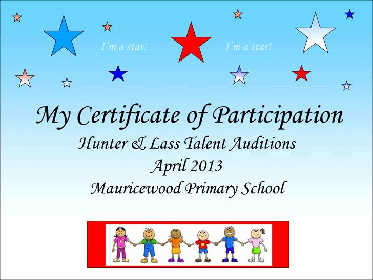 Talent Show Program Template Free Fresh Talent Show Certificate School Talent Show