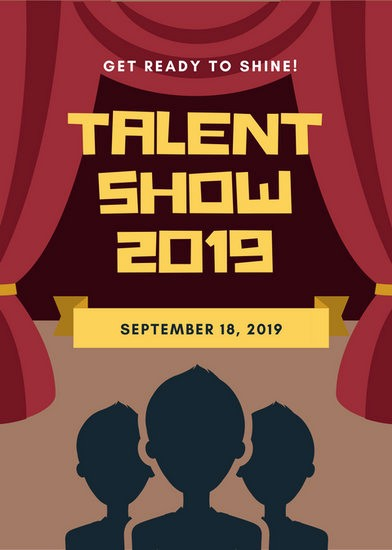 Talent Show Program Template Free Inspirational Customize 127 Talent Show Flyer Templates Online Canva