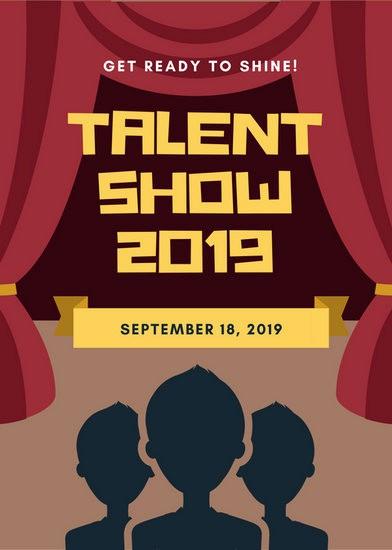 Talent Show Program Template Free Inspirational Customize 127 Talent Show Flyer Templates Online Canva