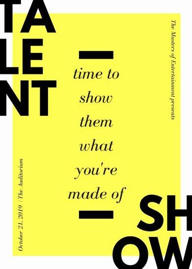 Talent Show Program Template Free Inspirational Microphone Illustration Purple Talent Show Flyer