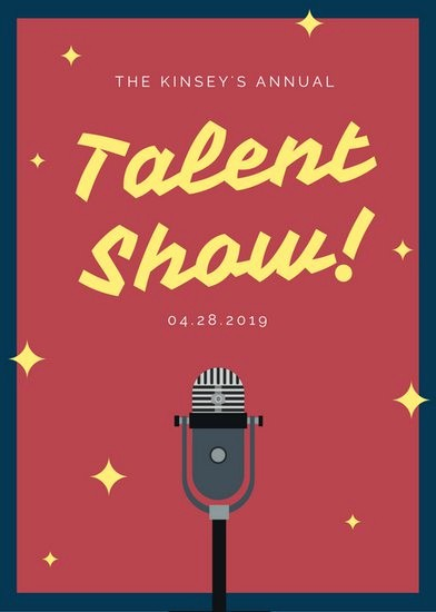 Talent Show Program Template Free Lovely Customize 127 Talent Show Flyer Templates Online Canva