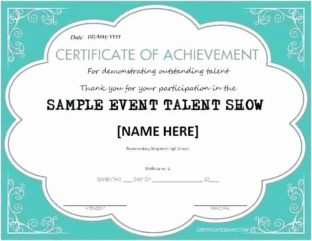 Talent Show Program Template Free New 95 Talent Show Program Template Free Talent Show