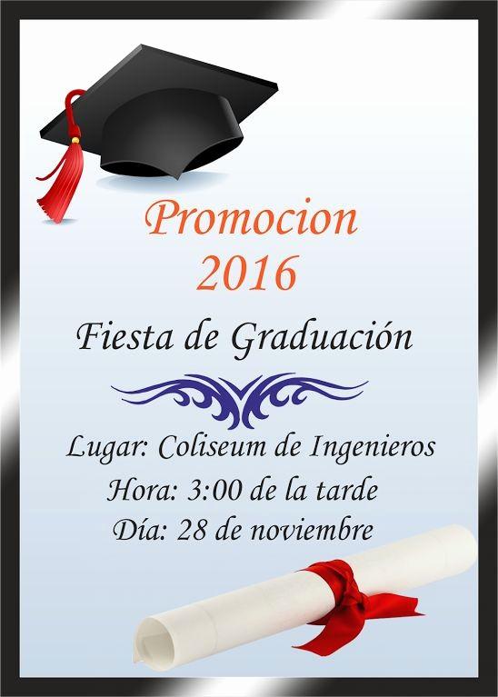 Tarjetas De Felicitaciones Para Graduacion Awesome Espaciohonduras Tarjetas De Invitacion Para Graduación