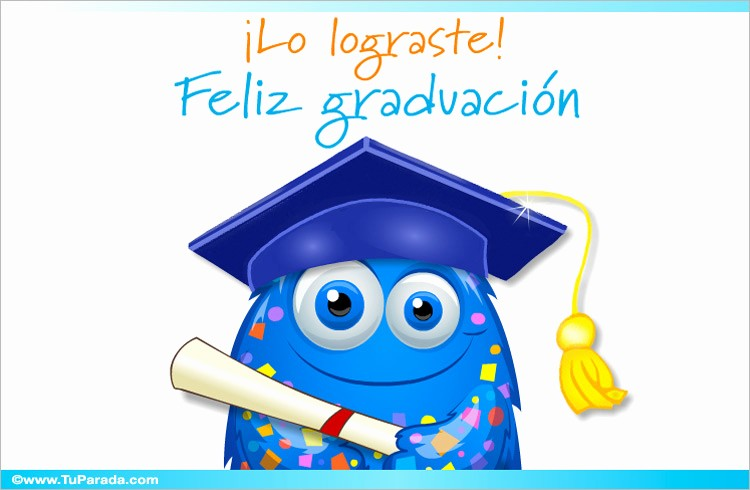 Tarjetas De Felicitaciones Para Graduacion Awesome Tarjeta Virtual De Graduación Graduación Tarjetas