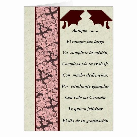 Tarjetas De Felicitaciones Para Graduacion Elegant Tarjeta Felicitacion De Graduacion