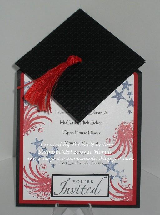 Tarjetas De Felicitaciones Para Graduacion Inspirational Coqueterias Manuales Invitacion De Graduacion