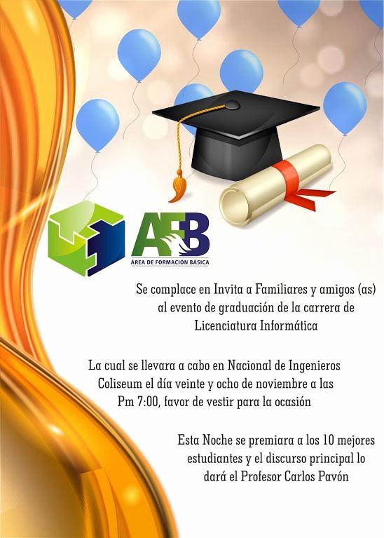 Tarjetas De Felicitaciones Para Graduacion Lovely 15 Best Tarjetas De Invitación Para Graduación Images On