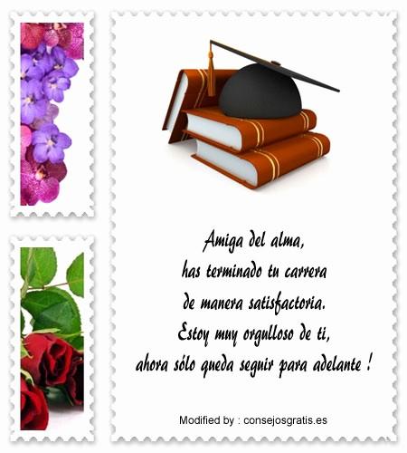 Tarjetas De Felicitaciones Para Graduacion New Felicitaciones Por Graduación