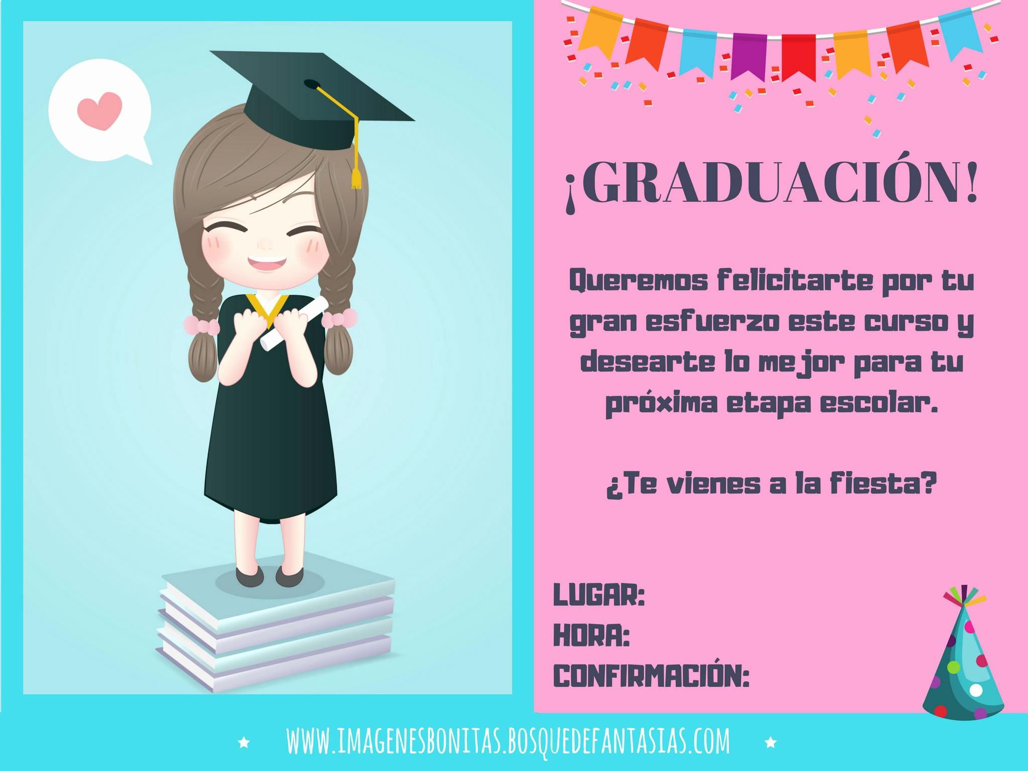 Tarjetas De Felicitaciones Para Graduacion Unique Invitaciones Para Graduaciones