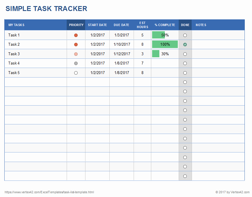 Task List Template Excel Spreadsheet New Excel Task Tracker Template