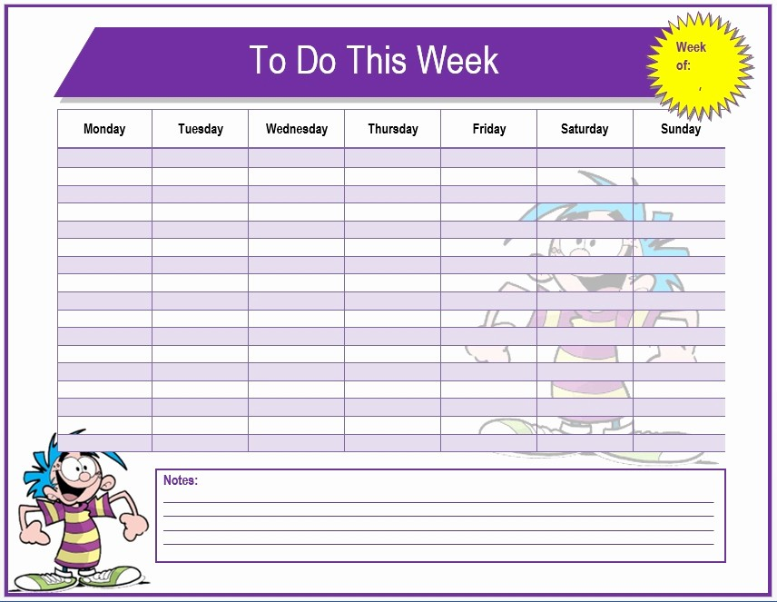Task to Do List Template Awesome Weekly Task List Template Invitation Template