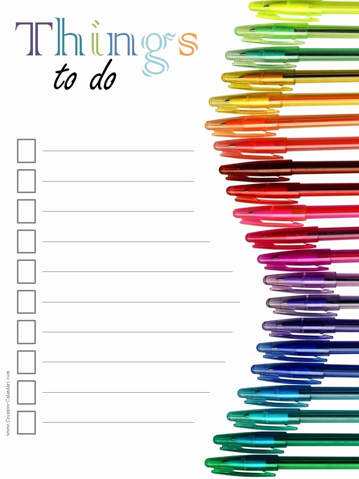 Task to Do List Template Inspirational to Do List Template