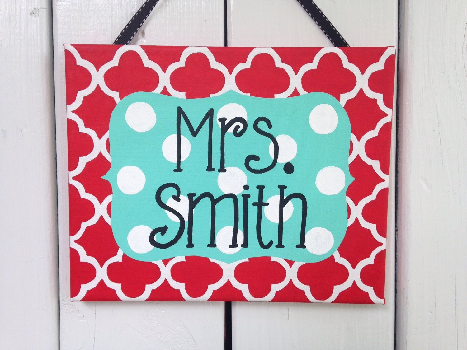Teacher Name Signs for Classroom Beautiful Teacher Door Sign Personalized Teacher Name Sign Classroom