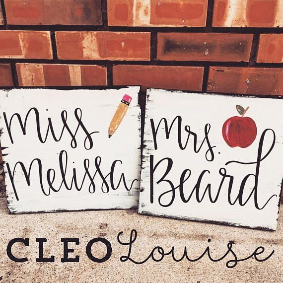Teacher Name Signs for Classroom Lovely Affliiate Link Rustic Teacher Name Sign Beautiful Hand