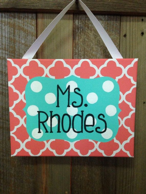 Teacher Name Signs for Classroom Luxury Best 25 Teacher Name Signs Ideas On Pinterest