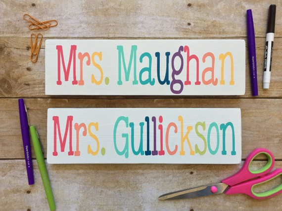 Teacher Name Signs for Classroom Luxury Teacher Name Sign Desk Sign Classroom Decor Teacher Decor