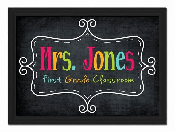 Teacher Name Signs for Classroom Luxury Unavailable Listing On Etsy