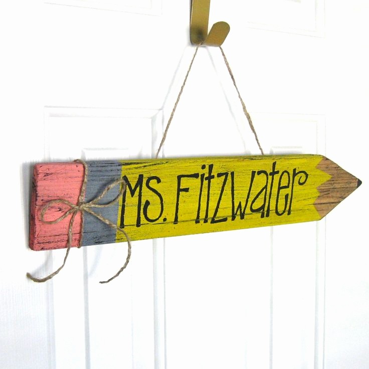 Teacher Name Signs for Classroom New Best 25 Teacher Name Plates Ideas On Pinterest