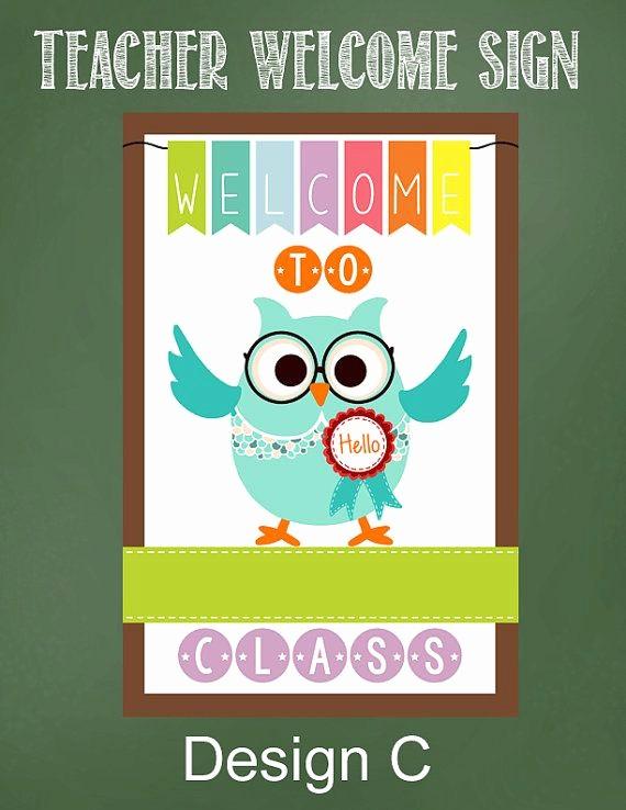 Teacher Name Signs for Classroom Unique 25 Best Ideas About Teacher Wel E Signs On Pinterest