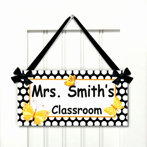 Teacher Name Signs for Classroom Unique Teacher Door Signs Related Keywords Teacher Door Signs